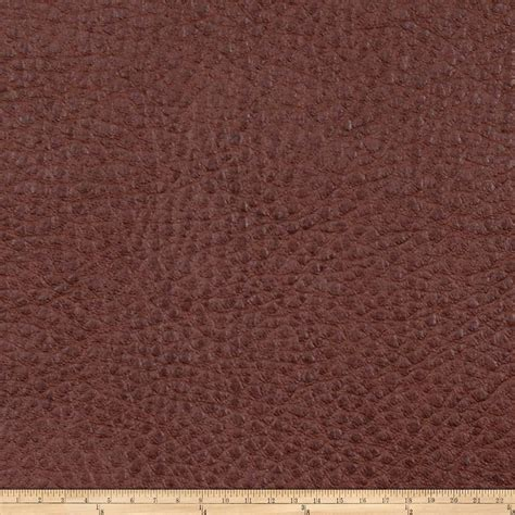 buy leather upholstery fabric fabricut oxide faux leather ginger discount designer