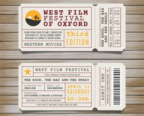 templates for event tickets 25 best ideas about ticket template on ticket