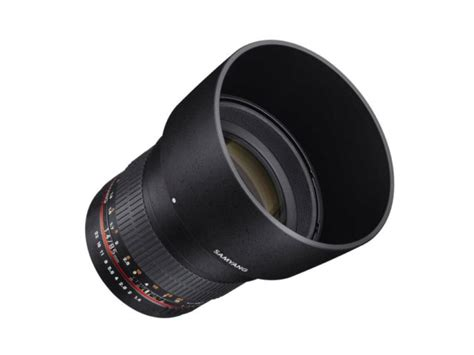 Samyang 85mm F 1 4 Canon samyang 85 mm f 1 4 asph 233 rique if monture canon