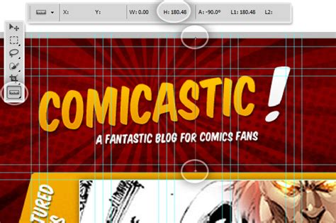 Comic Book Cover Template Psd Comic Book Website Template