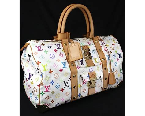 louis vuitton monogram keepall 45 multi color luggage