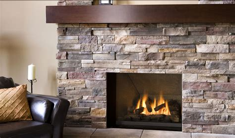 Install Fireplace by Fresh Stacked Veneer Fireplace Diy 2157