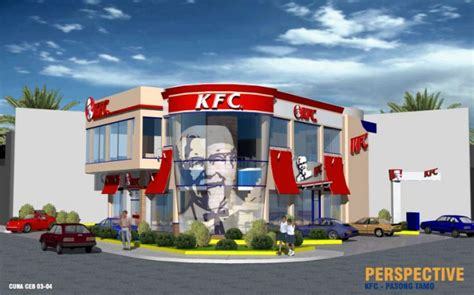 kfc store layout design kfc philippines design projects by maria cristina cruz at