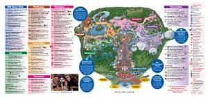 Disney Orlando Map by Pics Photos Magic Kingdom Map