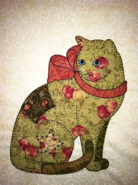 The Patchwork Cat - s awesome appliques sle of patch cats in