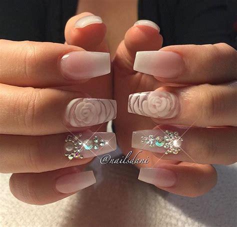 Nail Acrylic Flowers