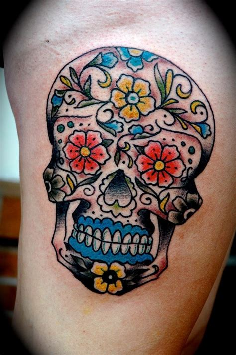 17 best images about sugar skull tattoos on pinterest