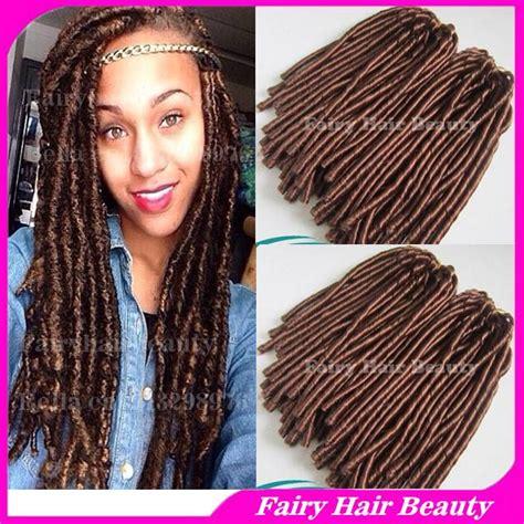 faux locks dreads prices new dreads 15 quot folded chocolate brown 4 synthetic