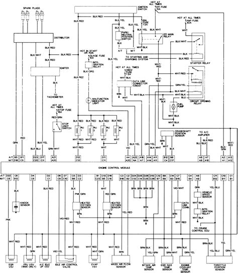 toyota rav4 2003 wiring diagram linkinx and tacoma