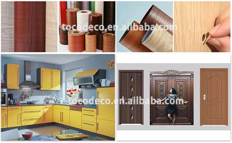 vinyl paper for kitchen cabinets decorative self adhesive wood grain vinyl laminate