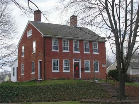 brick colonial house brick colonial home decor