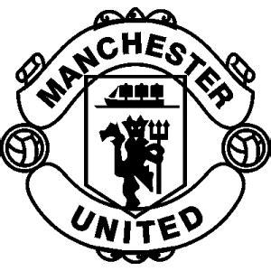Emblem Nos Hitam By Tastestos stickers et autocollant manchester united