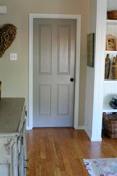 paint all the interior doors this lighter calmer sophisticated gray benjamin rockport
