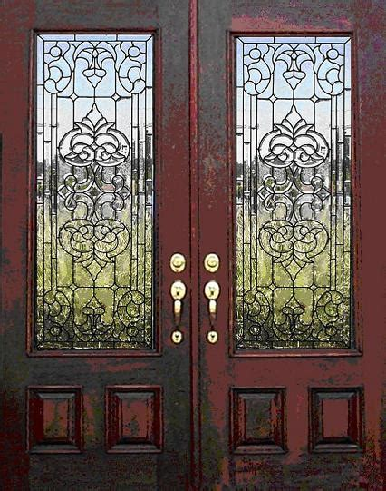 Leaded Glass Entry Doors Glass Designs Leaded Glass Doors And Garden Tub Windows