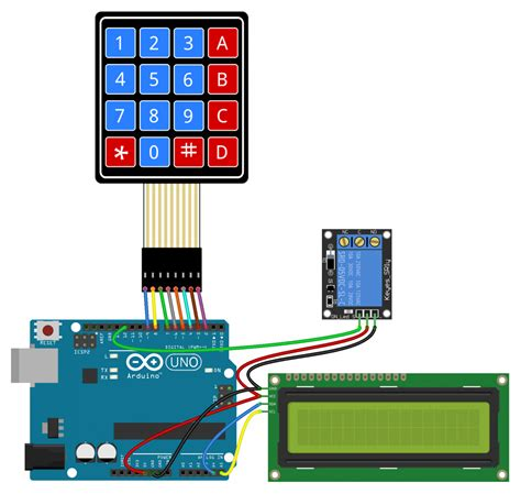 tutorial arduino relay how to set up a keypad on an arduino circuit basics