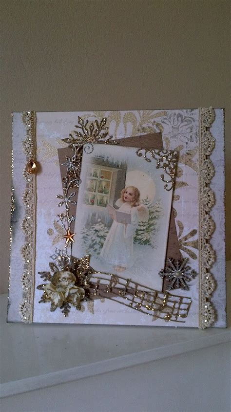 Handmade Vintage Cards - 78 best ideas about vintage handmade cards on