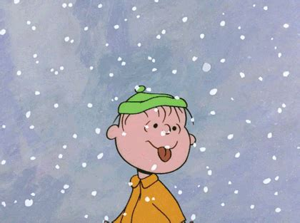 charlie brown christmas gifs snow gifs find on giphy