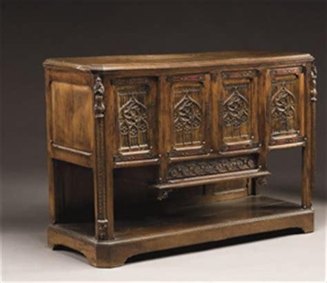 meuble  hauteur dappui de style medieval christies
