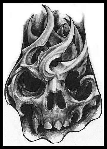 bio mechanic skull quot hand tattoo sketch quot jorge a gwooki