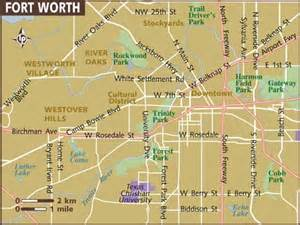 where is fort worth on a map map of fort worth world map 07