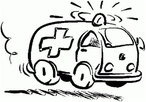 free coloring pages of ambulance ambulance coloring pages coloringpagesabc com