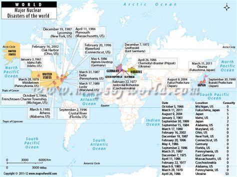 map world map world world map major nuclear disasters of the world