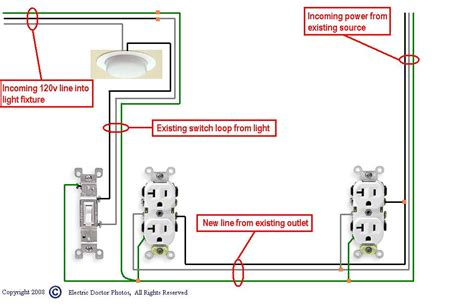 electrical outlet wiring white black wires electrical