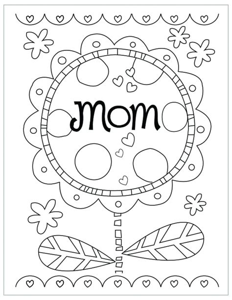 mothers day coloring page get this preschool coloring pages of mothers day free to