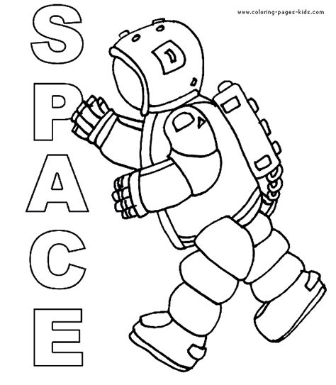 free coloring pages of space alien