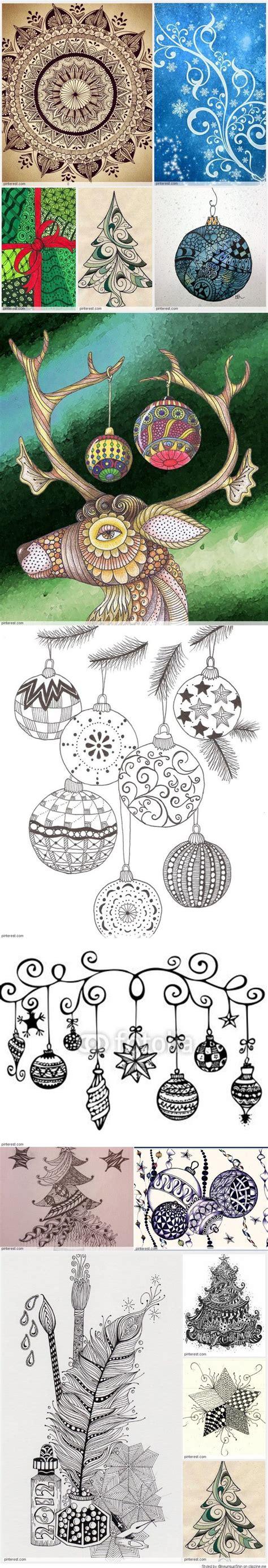 Good Christmas Pin #4: Bb44e653053ea04b0d814e8069b3af73--drawing-pics-zentangle-patterns.jpg
