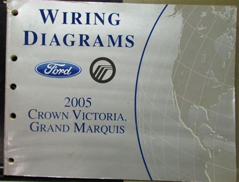 2005 ford mercury electrical wiring diagram manual crown