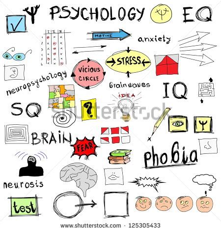 doodle meaning psychology psychology icon stock photos images pictures