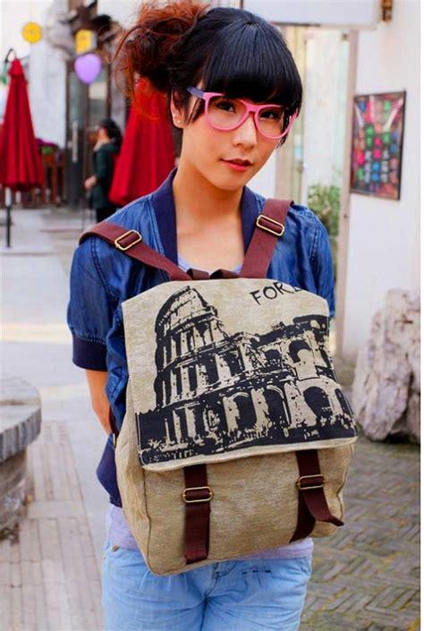 Tas Ransel Korea Import Murah Js285605 Hitam tas ransel wanita keren model terbaru jual murah