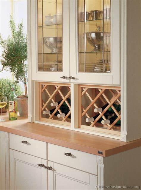 kitchen wine cabinet pictures of kitchens traditional off white antique