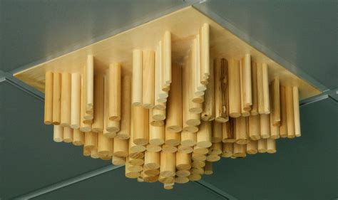 pannelli per controsoffitti in legno pannelli acustici diffrattori acustico 174 in legno serie w