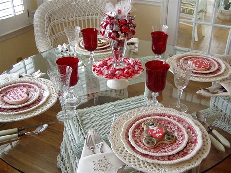valentines day table decor valentine s day craft and gift