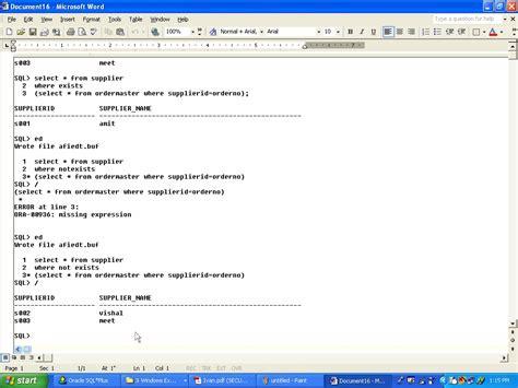 Gtu Mba Sem 3 Syllabus by Sql Queries Dbms Gtu Query Solution Photos Gtu Study