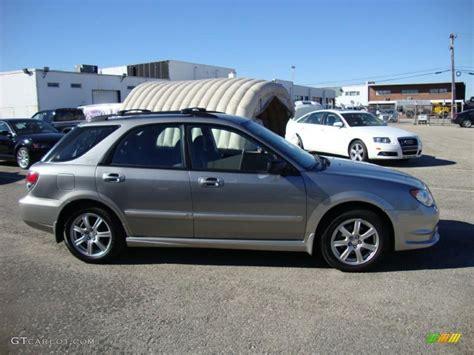 blue subaru outback 2007 gray metallic 2007 subaru impreza outback sport