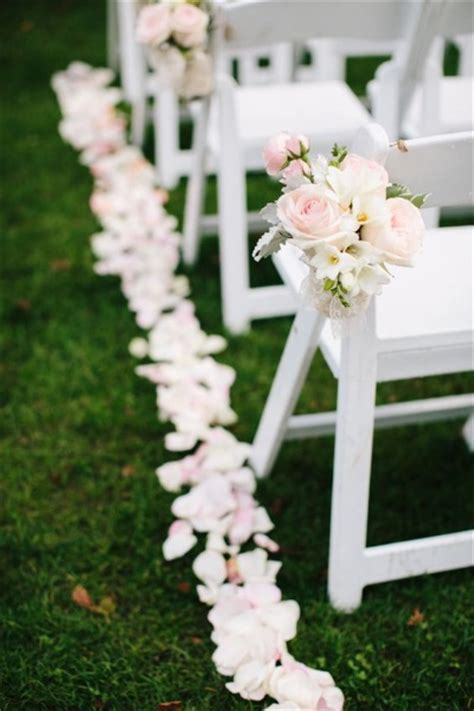 Wedding Aisle Flower Decorations by 50 Best Garden Wedding Aisle Decorations Pink Lover
