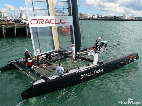 hydrofoil catamaran oracle world s fastest sailboats the catamaran trimaran
