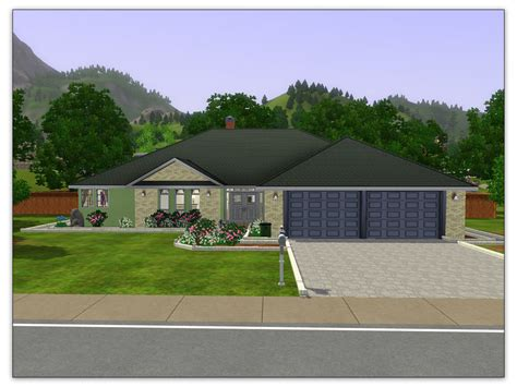 Eplans by Mod The Sims Artisim Bungalow Plan 01 Modest High Style