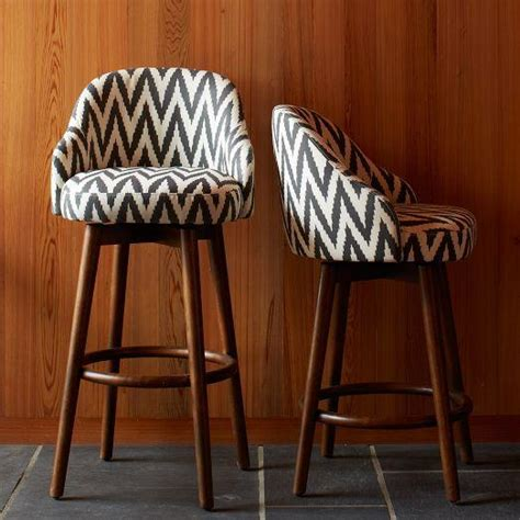 Chair Pads For Saddle Stools by Saddle Bar Counter Stool Slate West Elm