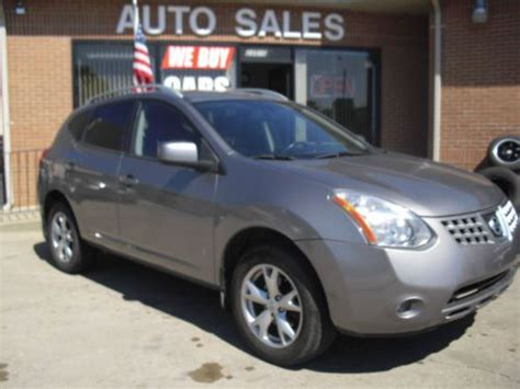fully loaded nissan rogue purchase used 2009 nissan rogue sl clean no reserve