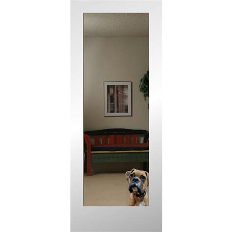 shop reliabilt 1 lite solid non bored mirrored glass