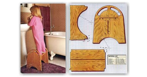 Childrens Wooden Step Stool Plans by Step Stool Plans Woodarchivist