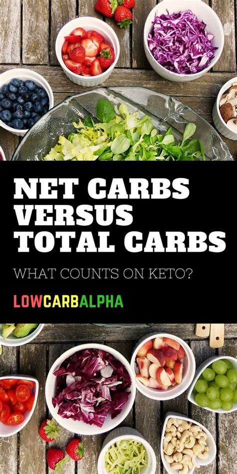 carbohydrates vs net carbs net carbs vs total carbs what matters on a ketogenic diet