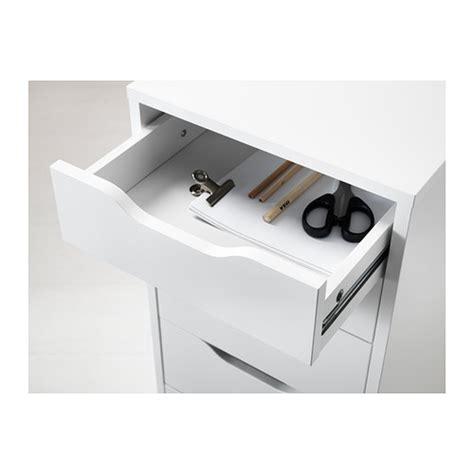 White Drawer Unit by Alex Drawer 5 Unit White Furniture Source Philippines