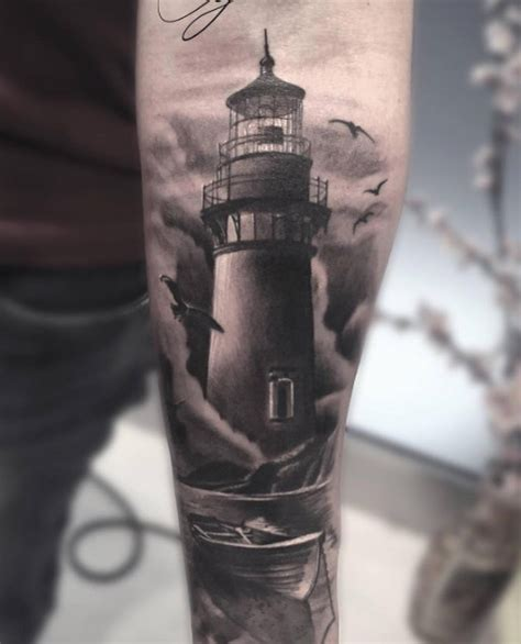 light house tattoos 40 lighthouse designs tattooblend