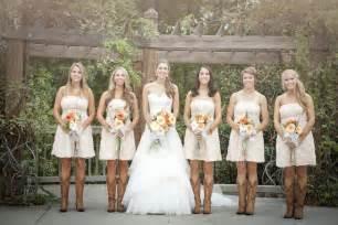 rustic wedding bridesmaid dresses rustic wedding dresses with cowboy boots