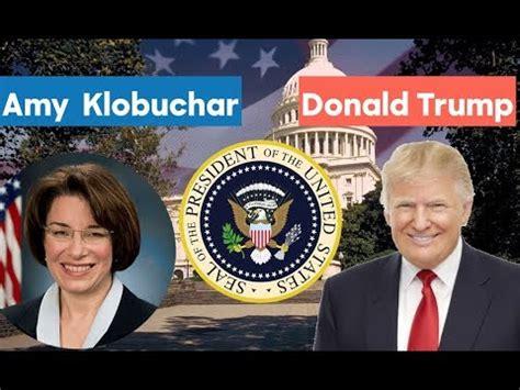 kirsten gillibrand vs donald trump 2020 election night 2020 amy klobuchar vs donald trump doovi